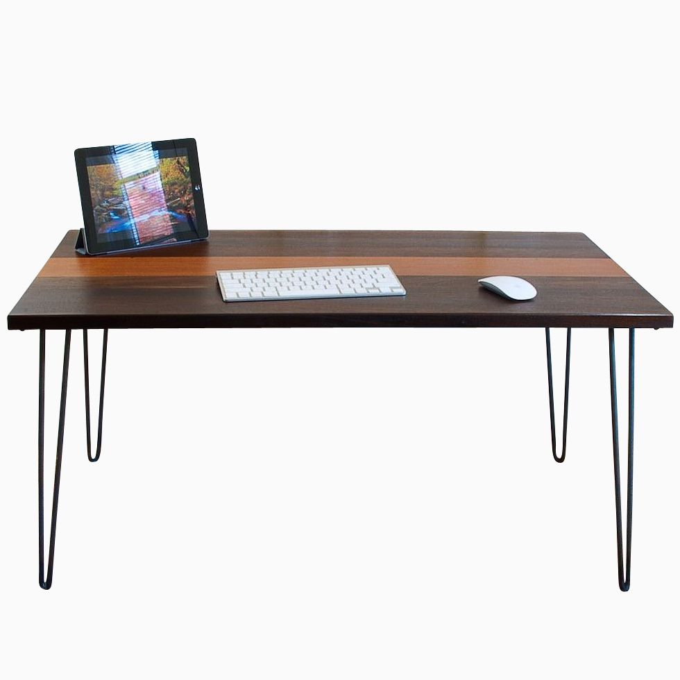 Hand Made Mid Century Modern Desk by Blowing Rock