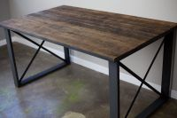Buy a Hand Made Reclaimed Wood Dining Table/Desk ...