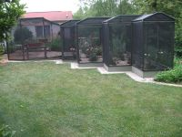 Hand Crafted Rose Garden/Patio Screened-In Enclosure by ...