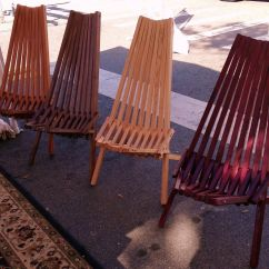 Indoor Outdoor Chairs Ergonomic Chair Company Custom Wooden Slat By Nature S Expression Custommade Com