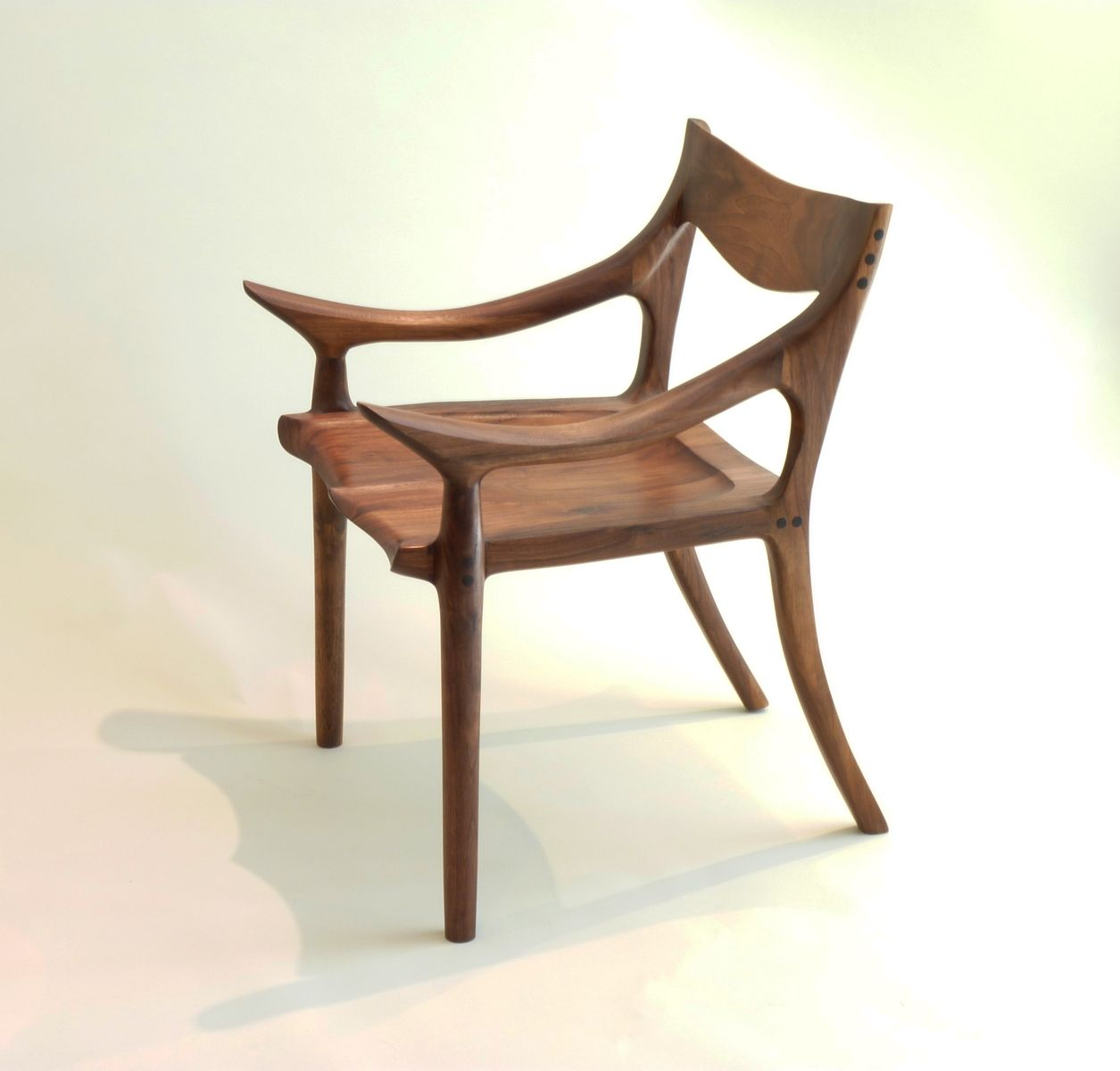 custom made throne chairs high back dining uk sam maloof style lowback chair by j blok
