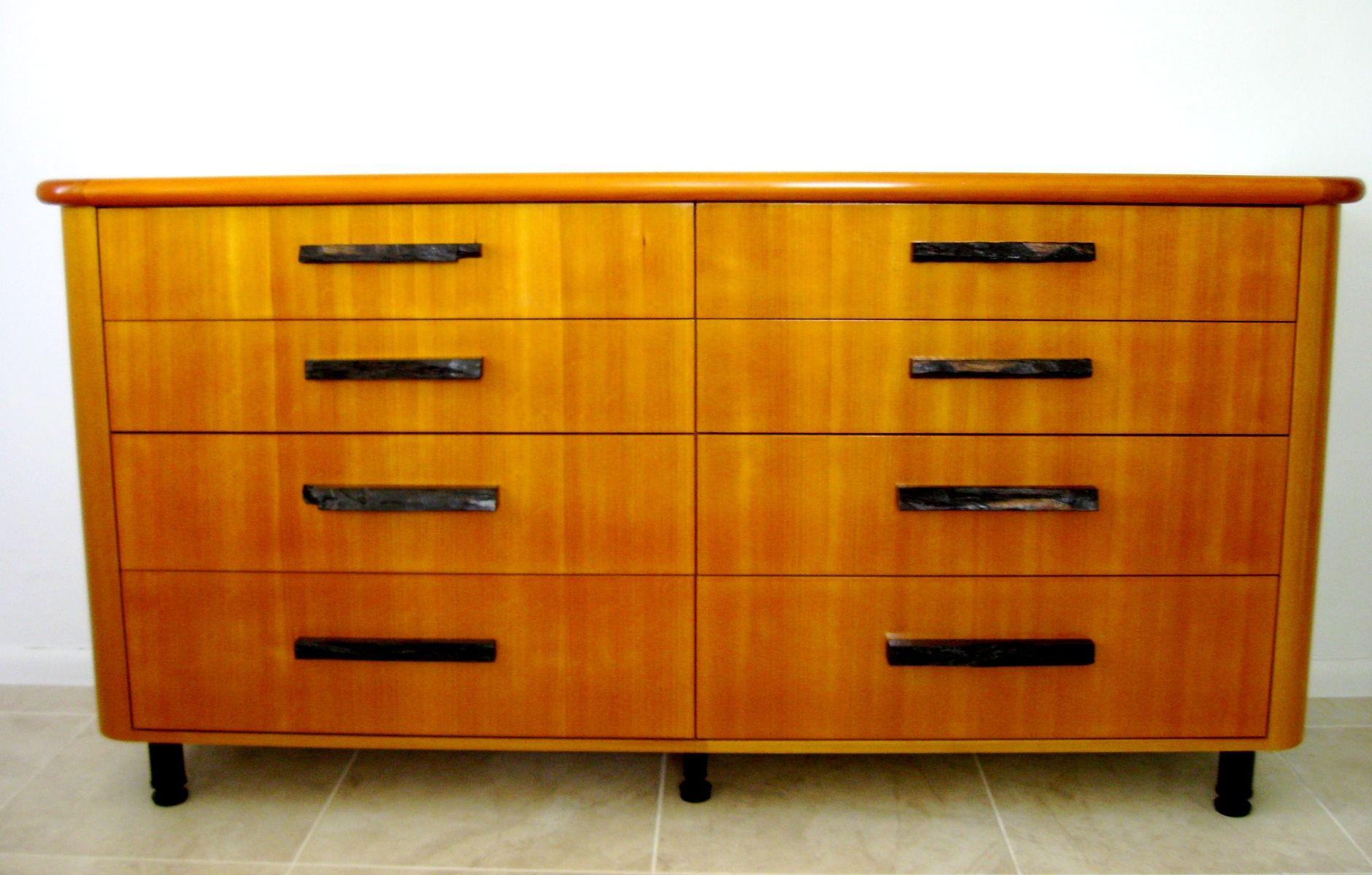 Custom Bedroom Bureau Dresser By James Sagui Fine