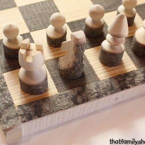 Diy Chess Board Table Woodworking