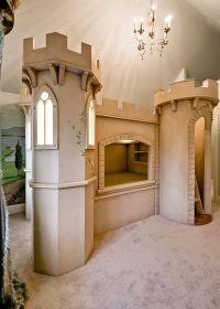 Custom Castle Bunk Bed Queen Size by Clark Fine Furniture ...