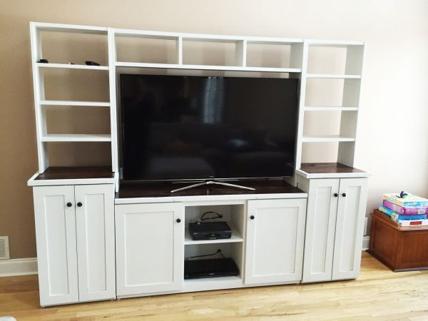 Custom Barn Wood Tv Stand Media Console Entertainment Center Cabinet