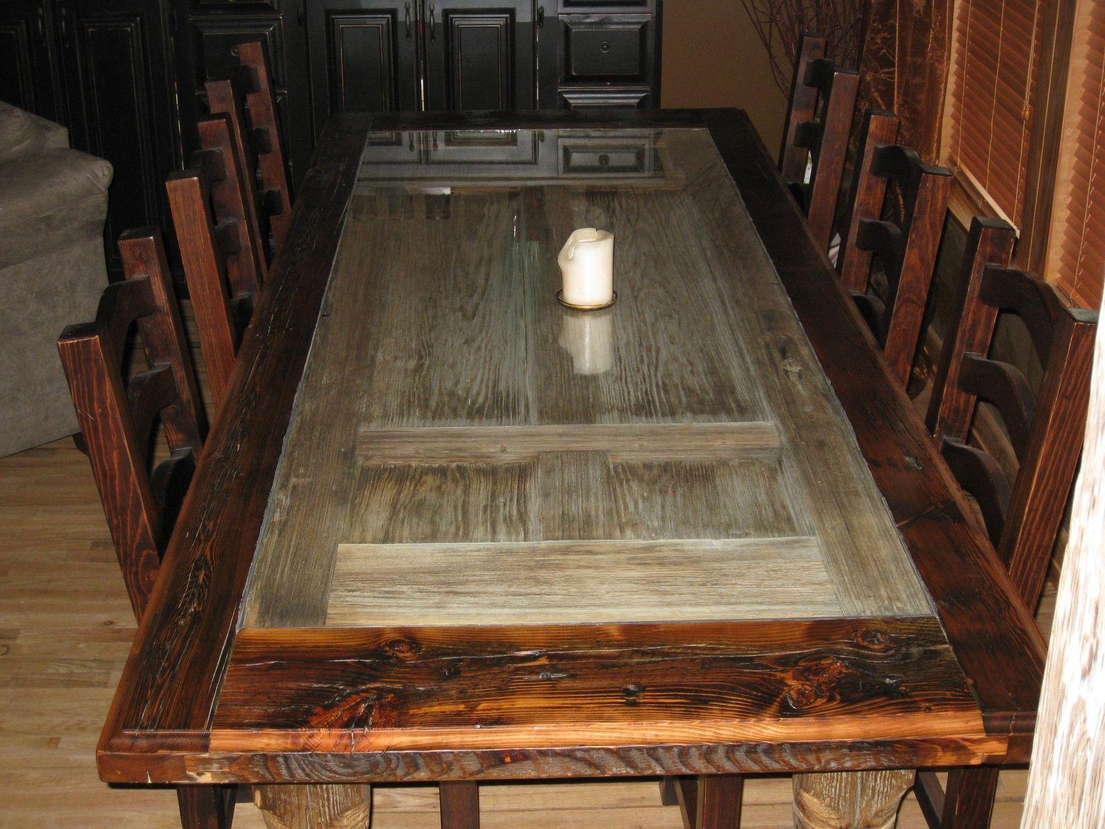 Handmade Reclaimed Barnwood Dining Room Table By Rusty