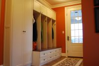 Custom Mud Room Lockers And Home Office by Creative ...