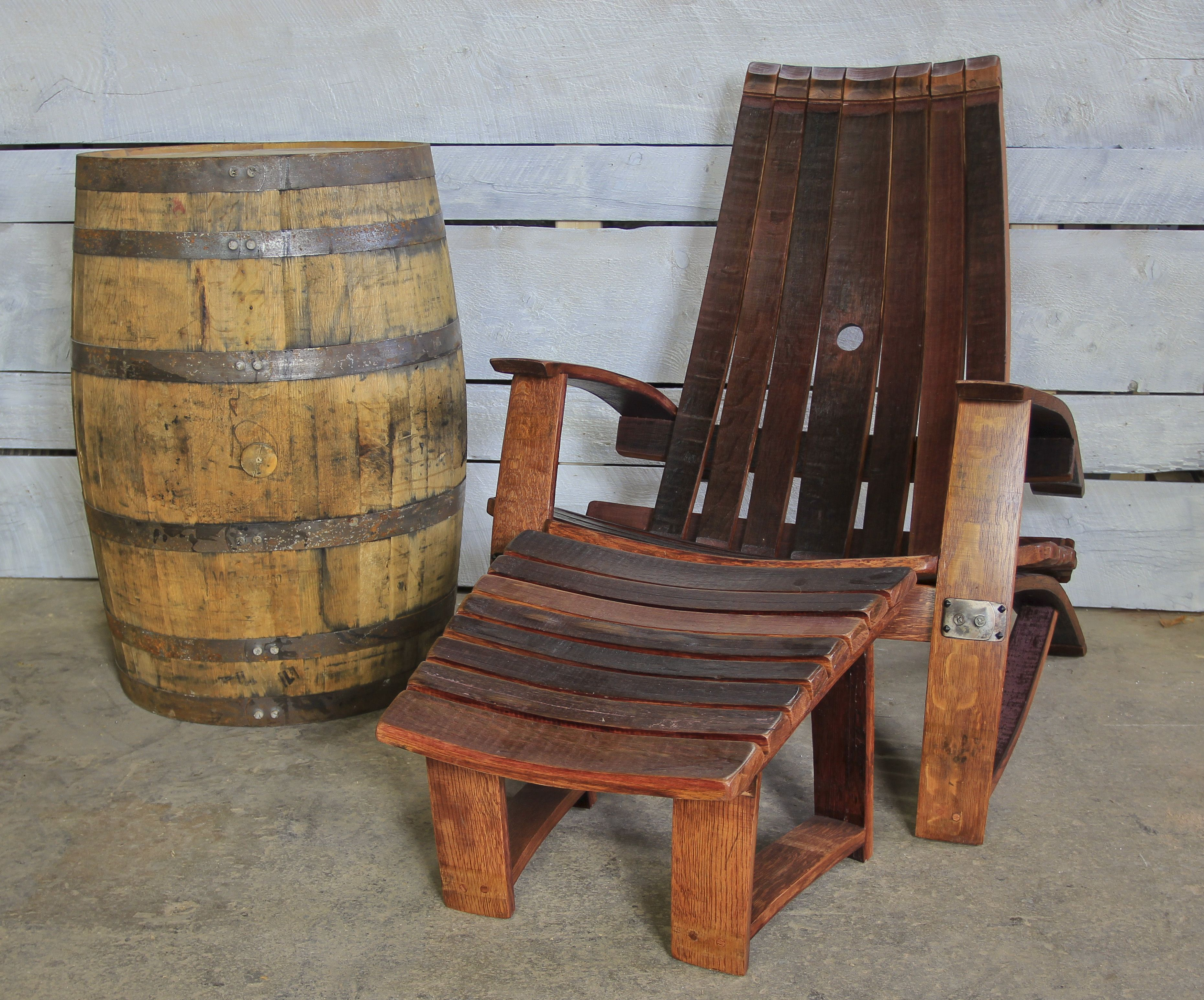 wine barrel chair green leather chairs buy a hand crafted red made to order from wood custom