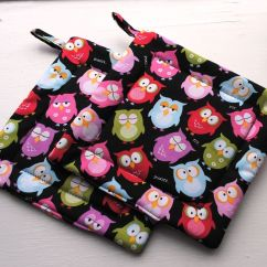 Kitchen Hot Pads Buy Old Cabinets Hand Made Pot Holders Oven Mitts By Originals Lauren Custom
