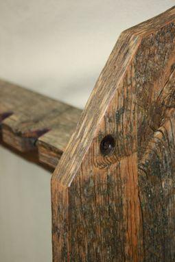 Custom Made ReclaimedBarnwood Lumber Fishing Rod Rack