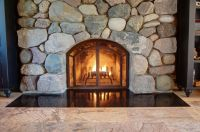 Custom Mcnabb Fireplace Doors by North Shore Iron Works ...