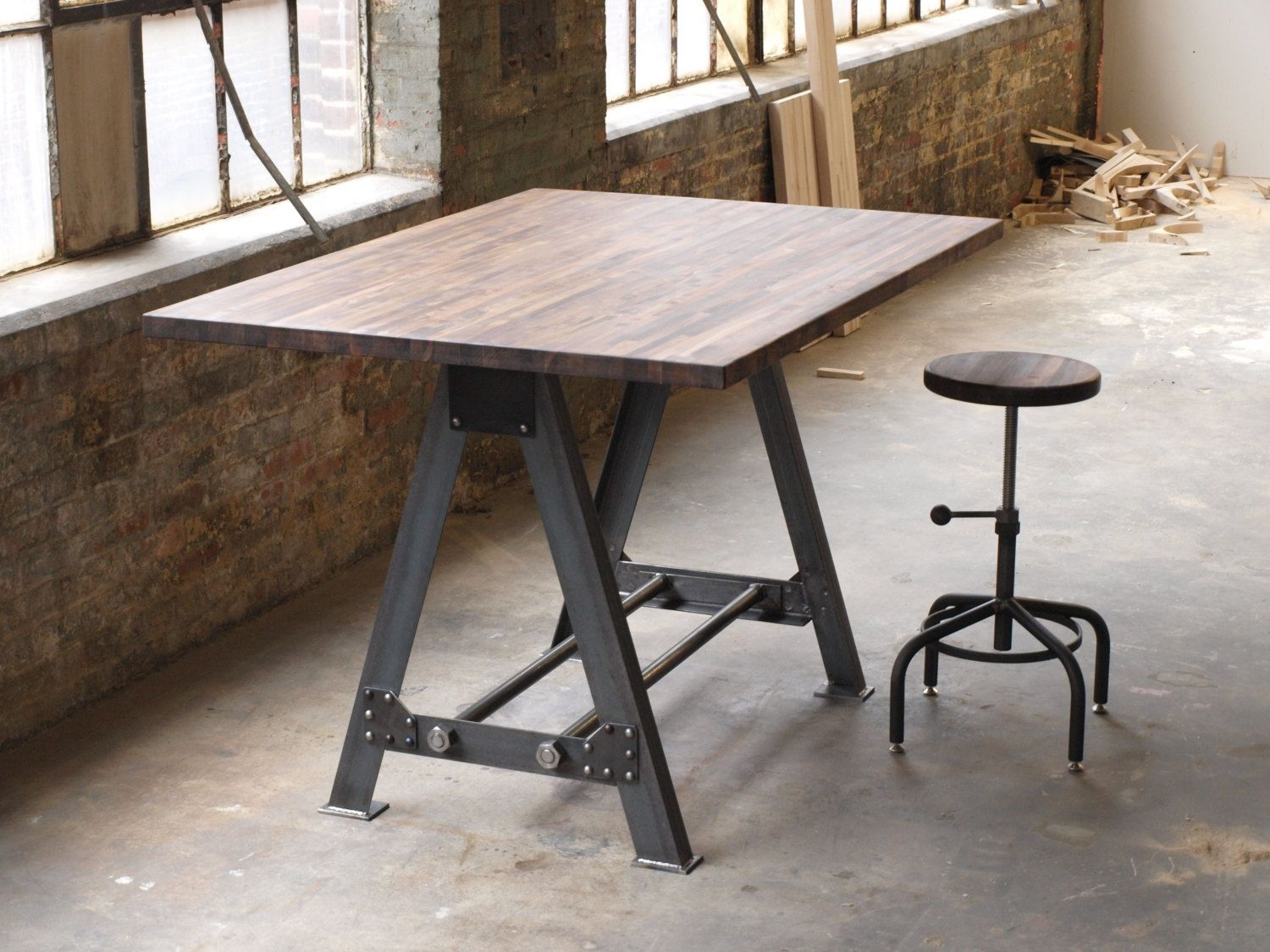 industrial kitchen table design software mac hand made a frame island bar by