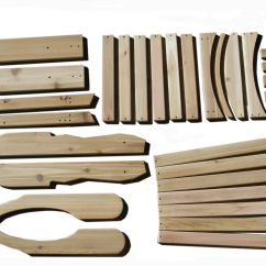 Diy Adirondack Chair Kit Teak Beach Custom Set By Garden Furniture Mill Custommade Com