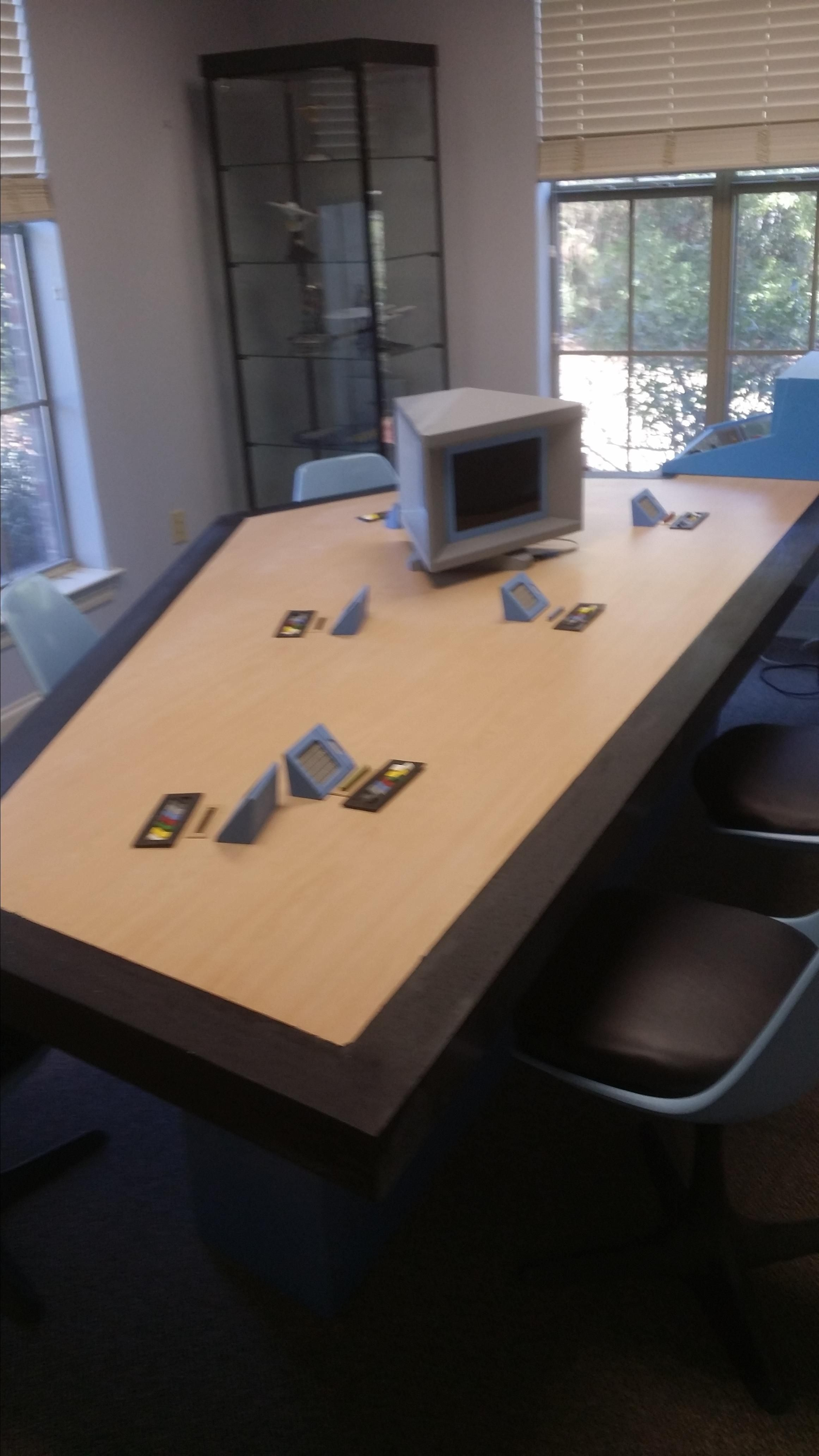 Hand Made Tos Star Trek Briefing Room Table by Southern