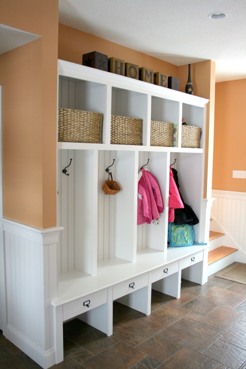Hand Made Mudroom Builtins By Albert S Grant Fine