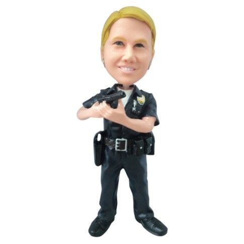 Hand Crafted Personalized Police Figurine A Great Police