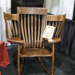 Rocking Chair Fine Woodworking Swing Lawn Custom Storybook Rocker By Chidwick School Of Made
