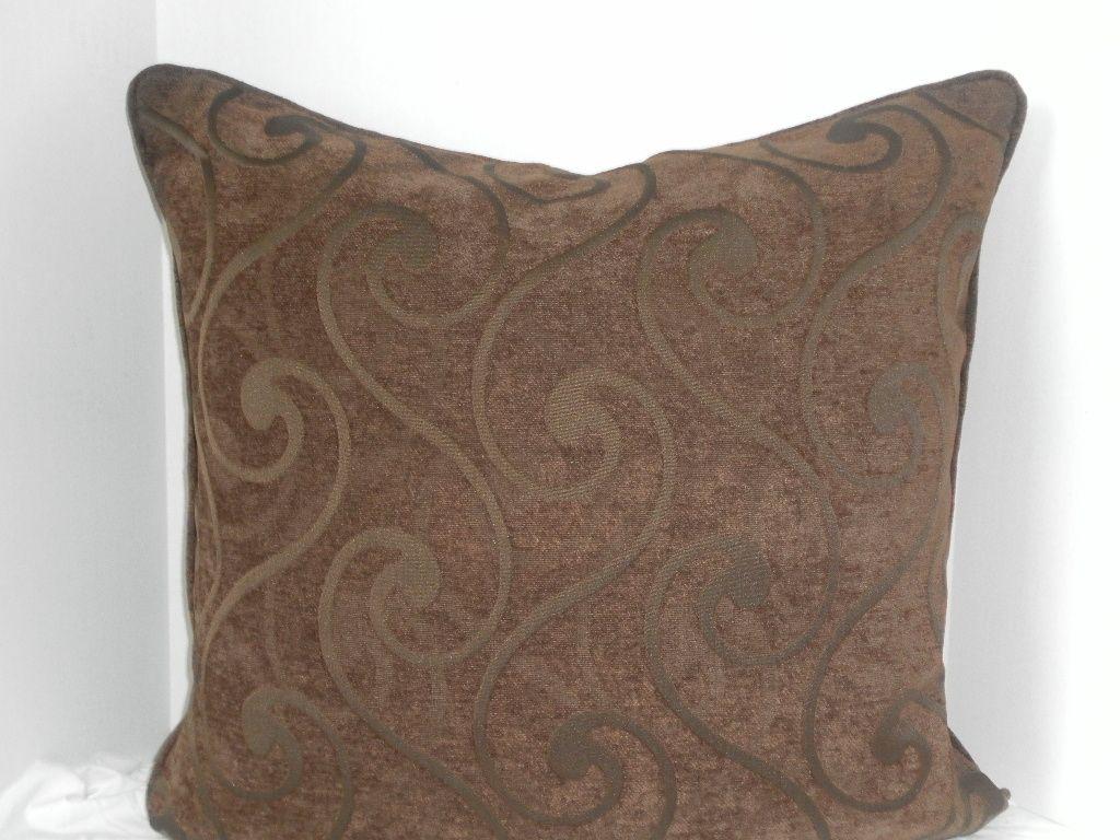 leather and chenille sofa norwalk handmade 3 - 24 x decorative pillows by elma blake ...