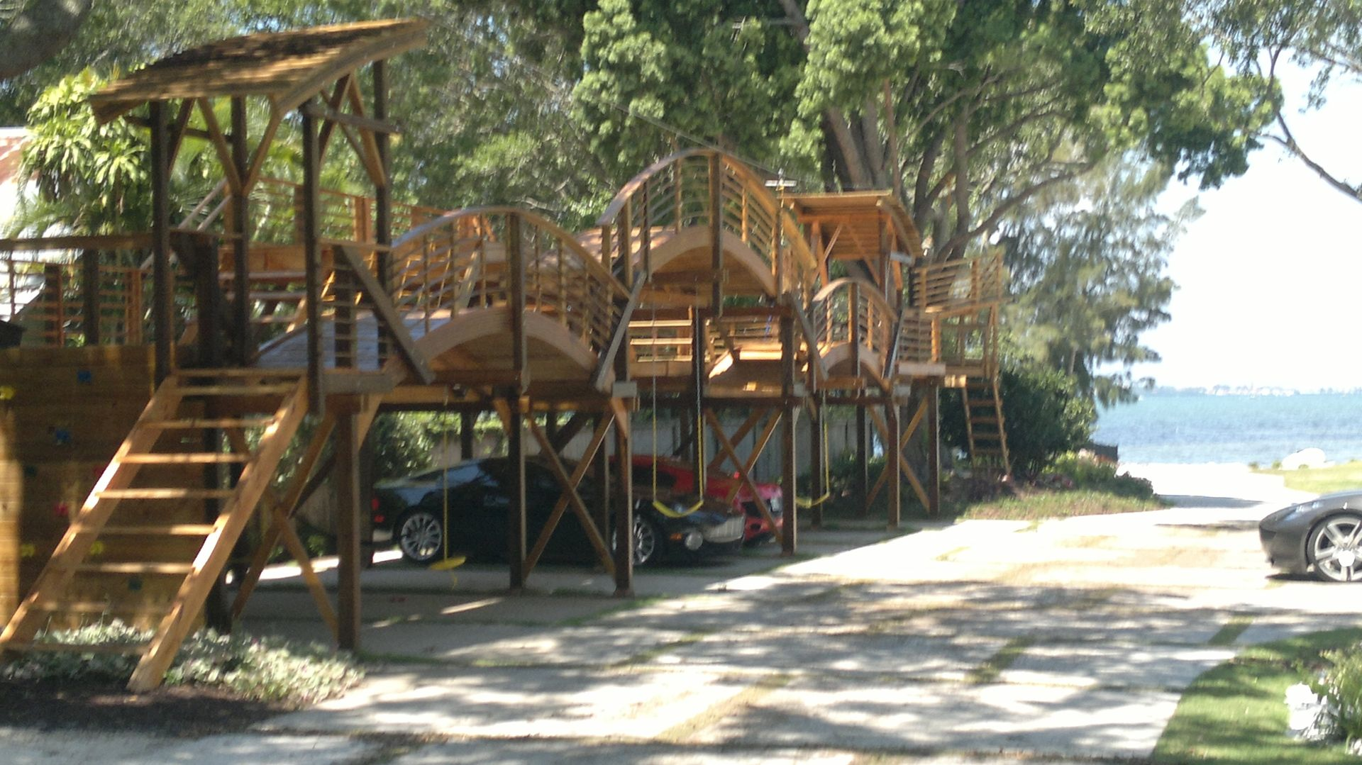 Handmade Playground With Option Of Car Space By Rustic