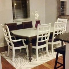 Chairs For Children Black Chair Covers With White Bows Hand Crafted Custom Repurposed Dining Table By Jilliann Mae's | Custommade.com