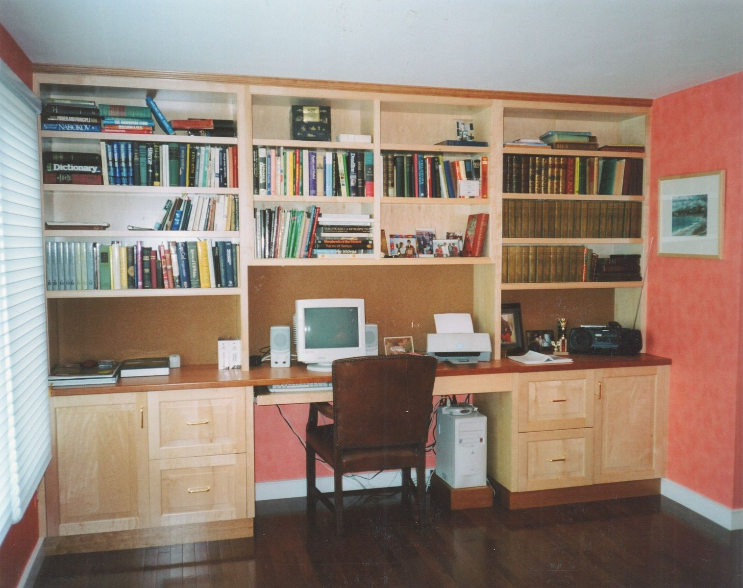 Hand Made Home Office Desk System By Michael Weiss Designs