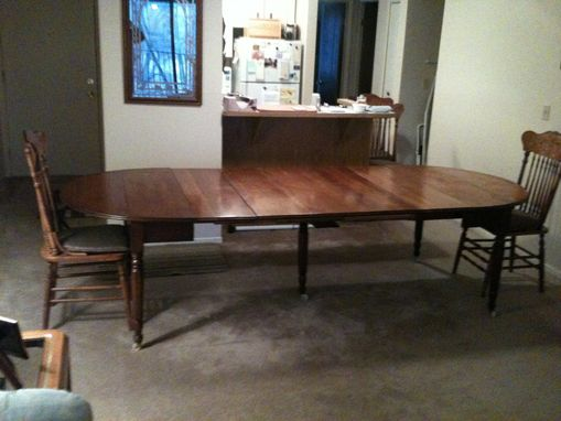 Custom Replacement Of Five 5 Table Leaves To A Family