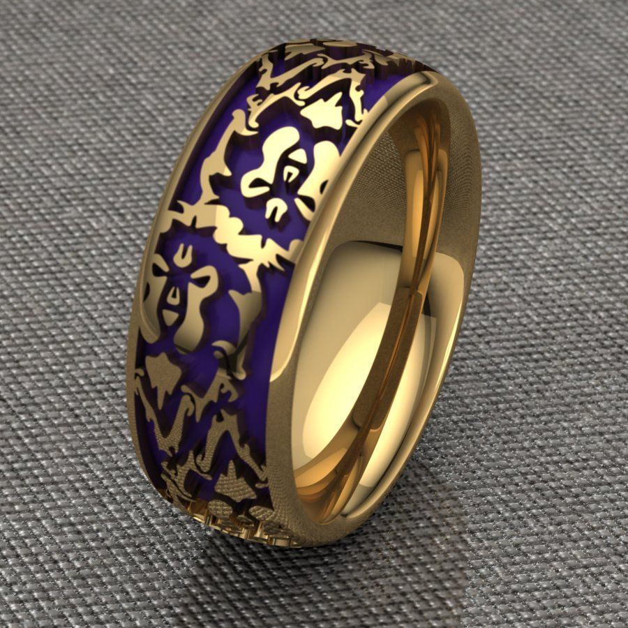 Buy Custom Made Committed To The Alliance Bands Ladies
