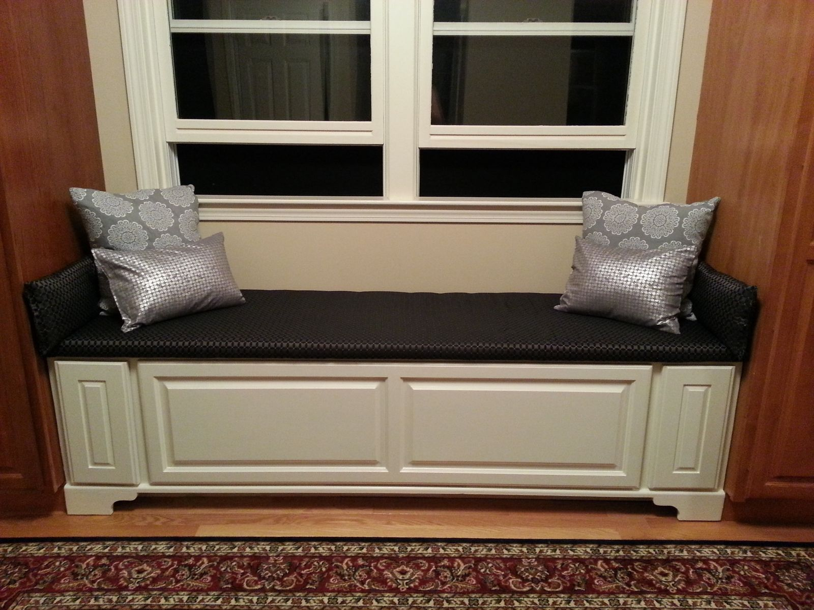Hand Made Window Bench W Drawers By The Homestead