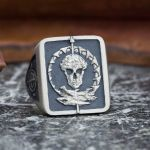 Custom Biker Rings Design Your Own Motorcycle Club Ring Custommade Com