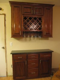 Hand Made Wine Rack Cabinet by Cross Cut Construction ...
