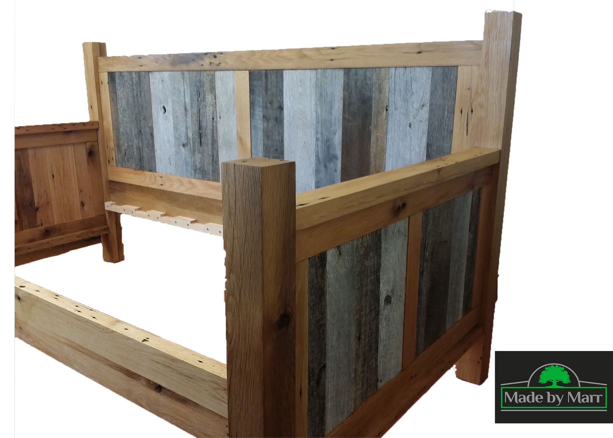 custom made reclaimed oak daybed by