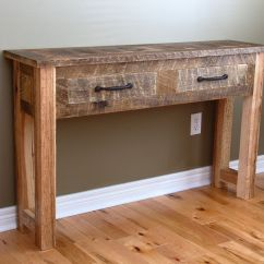 Wall Tables For Living Room Colours With Grey Custom Reclaimed Wood Console Table By Carpentercraig Custommade Com Made