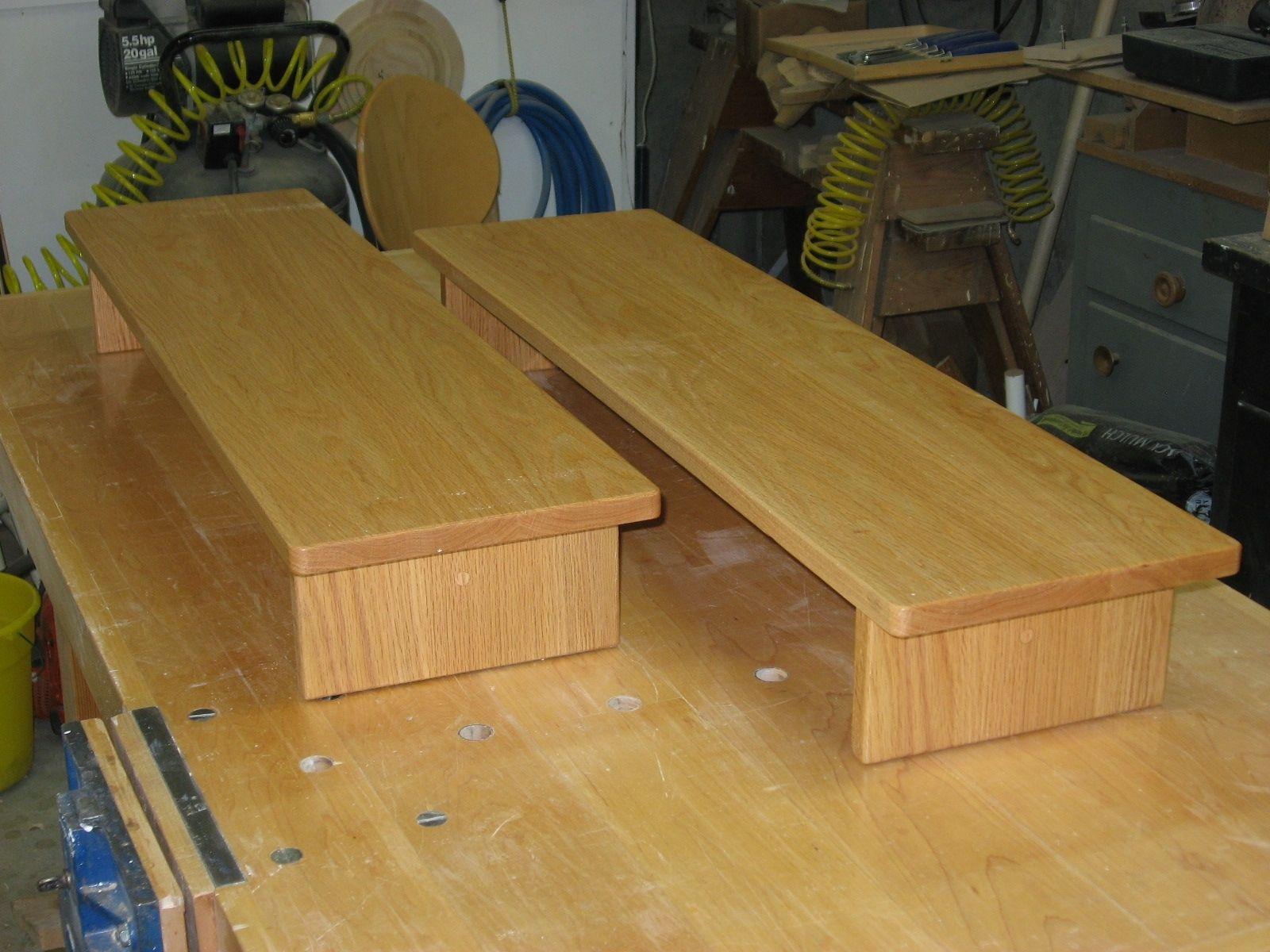 bedroom chair m&s computer floor mat handmade oak bed steps by batterman 39s custom woodworking