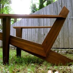 Chairs For Tall Man Chrome And Leather With Arms Custom Made Modarondack - Modern Adirondack Chair By Plank&board | Custommade.com