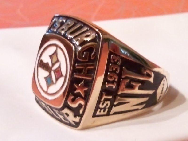 Custom Pittsburgh Steelers Ring By Wax Jewelry Design