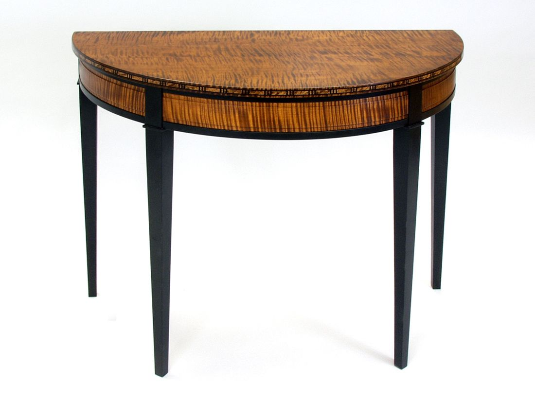 custom made sofa tables black armchair hand crafted console by dorset