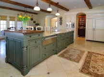 Hand Crafted Custom Kitchen Island by Against The Grain ...