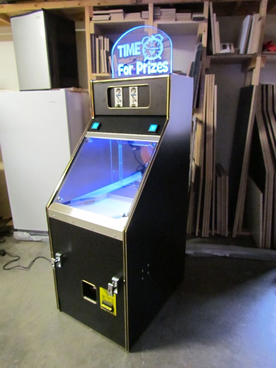 Custom Made Coin Operated Coin Pusher Game by Maryland Cnc