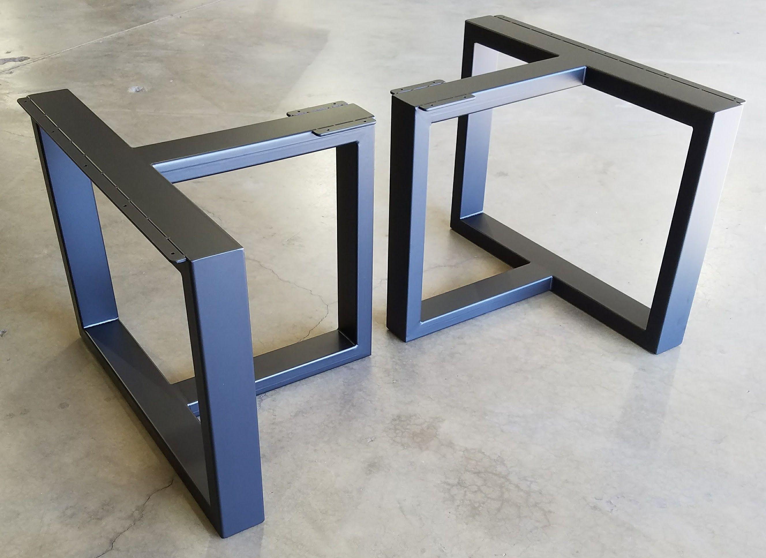 Custom Metal Table Legs by Urban Ironcraft