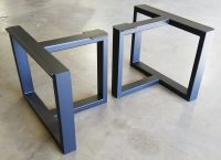 Custom Metal Table Legs by Urban Ironcraft