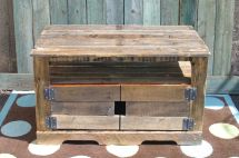 Custom Pallet Wood Entertainment Center Tim Sway