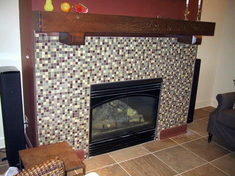 Custom Arts And Crafts Fireplace Mantel by Two Rivers Woodworking  CustomMadecom