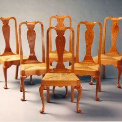 Queen Anne Dining Chair Ergo Chairs For Office Hand Crafted Room By Paula