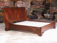 Custom Made Sleigh Bed by E. Jacobsen Furniture Maker, Llc ...