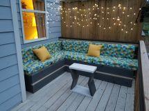 Custom L-shaped Patio Furniture Mom'