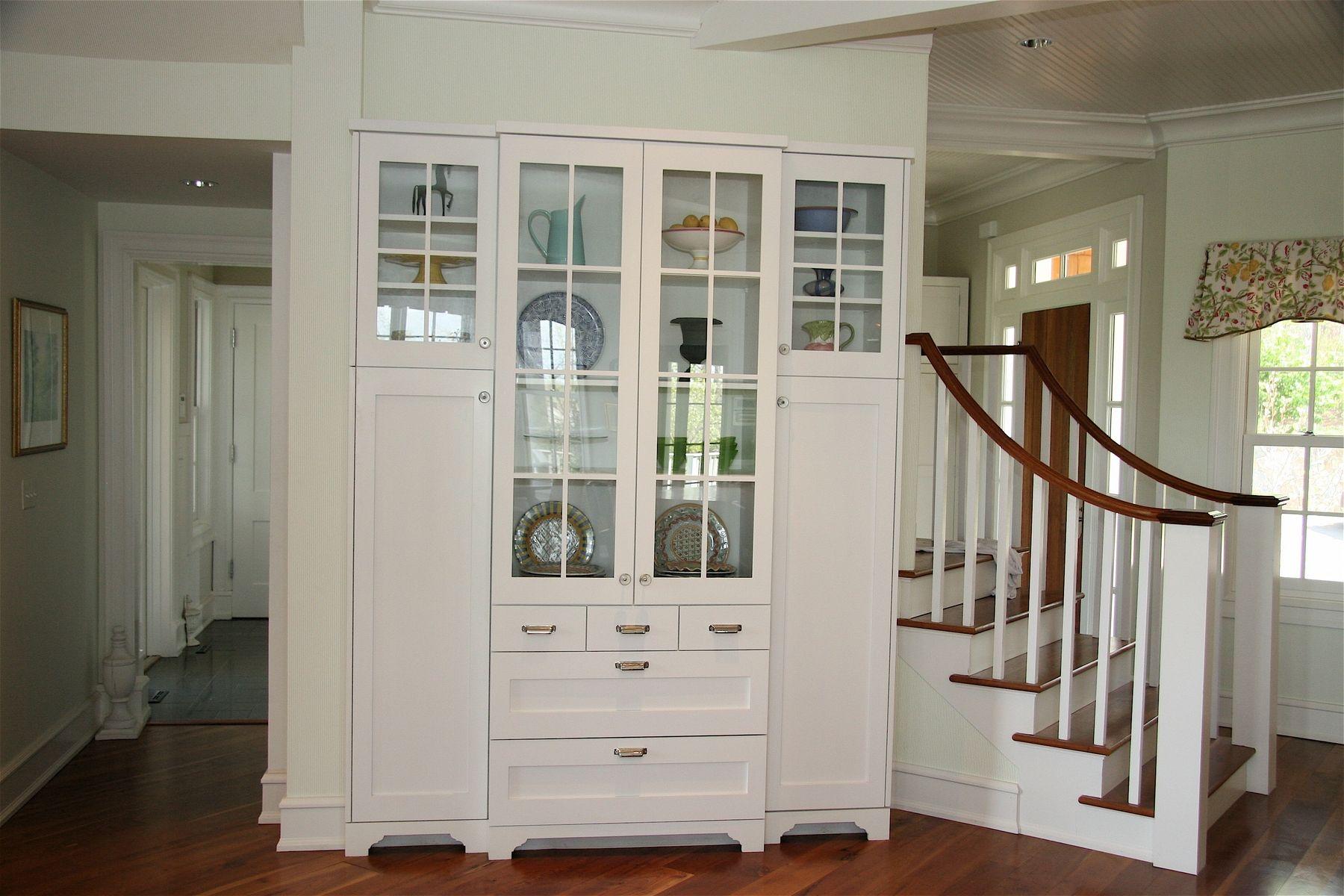 Handmade Custom China Cabinet by Precision Interiors Inc