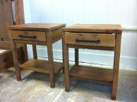 Custom Made Reclaimed Wood End Tables by Sb Designs ...