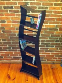 Hand Made Modern Dvd Rack by Fine Iron Fabrication