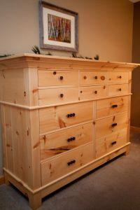 Handmade Knotty Pine Dresser by Pin & Scroll: Elegant Wood ...