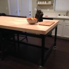 Maple Kitchen Table Cabinet Kits Sale Buy A Handmade Rolling Island Made To Order Custom